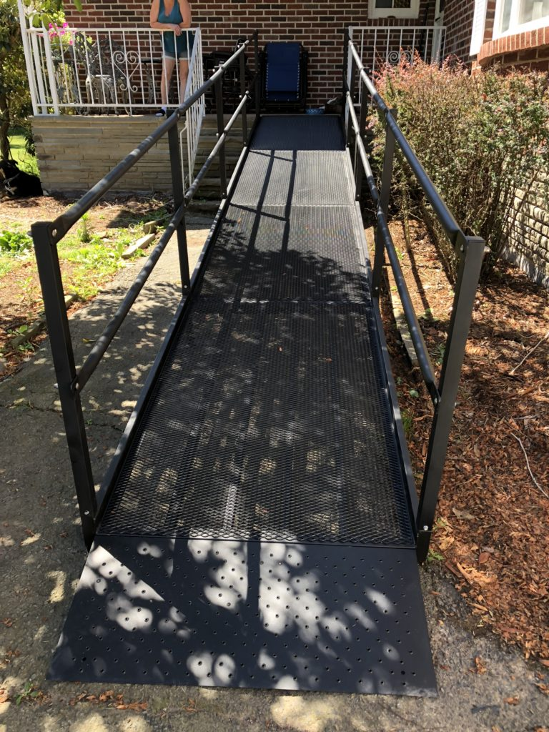 Custom Ramp installation available through Northeast Accessibility
