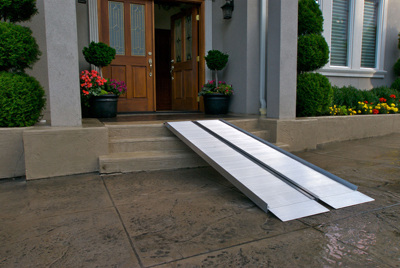 Portable Ramps available through Northeast Accessibilty