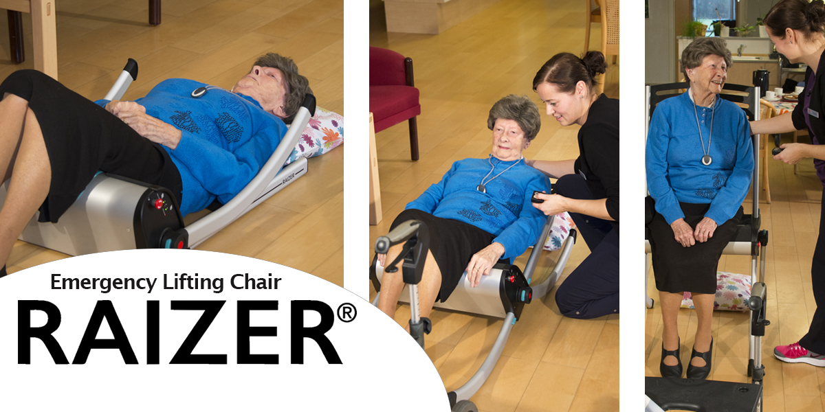 Raizer Emergency Lifting Chair available at Northeast Accessibility