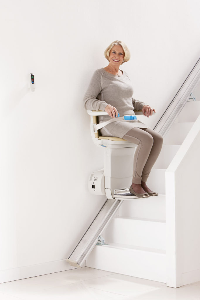 Stair Lift installation available through Northeast Accessibility